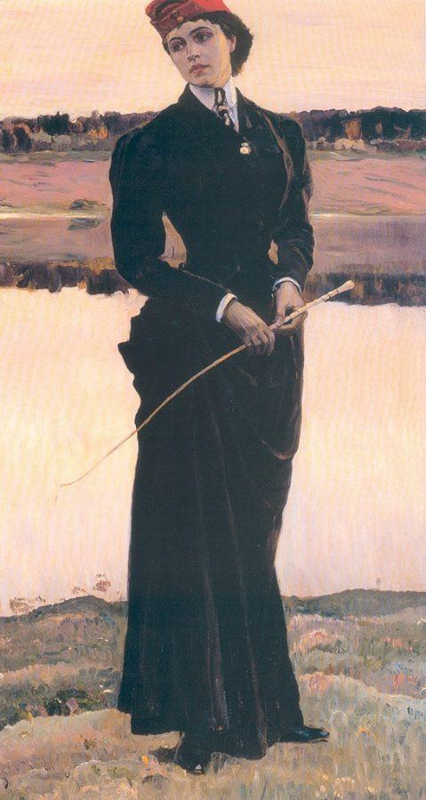 М. В. Нестеров «Портрет О. М. Нестеровой», 1906 © ГРМ