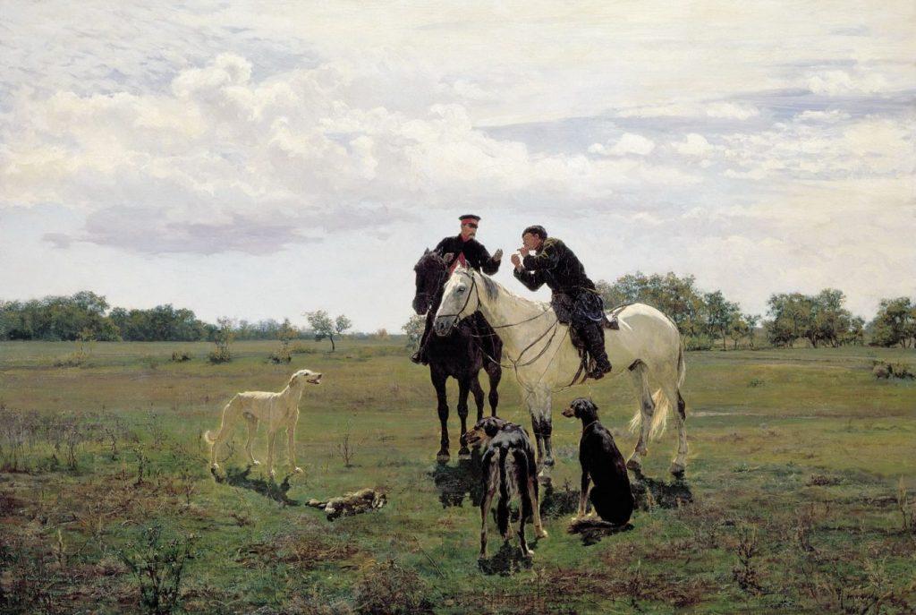 Николай Кузнецов «На охоте», 1882 © ГРМ