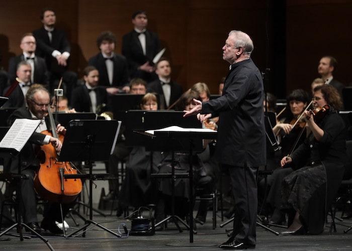 Валерий Гергиев с оркестром Мариинского театра