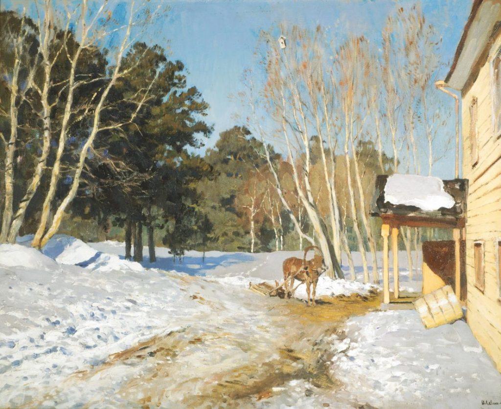 И.И. Левитан «Март», 1895 © ГТГ