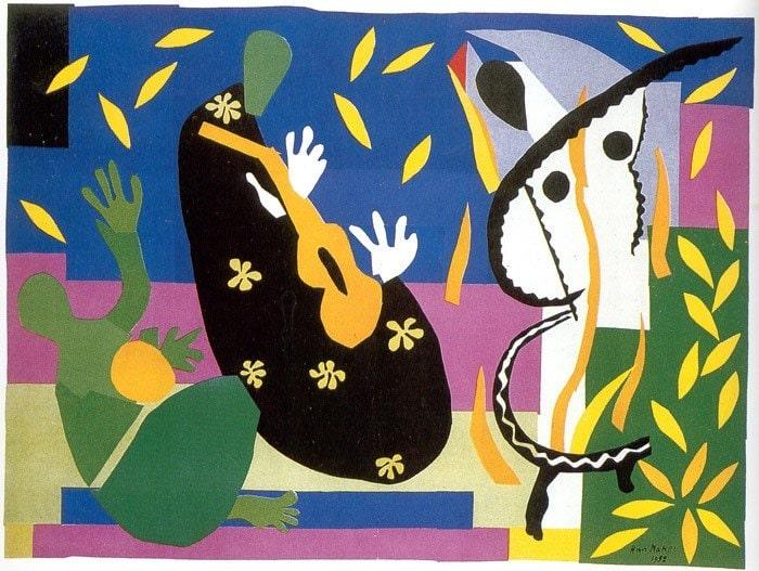 Анри Матисс «Печали короля», 1952 © Centre Pompidou