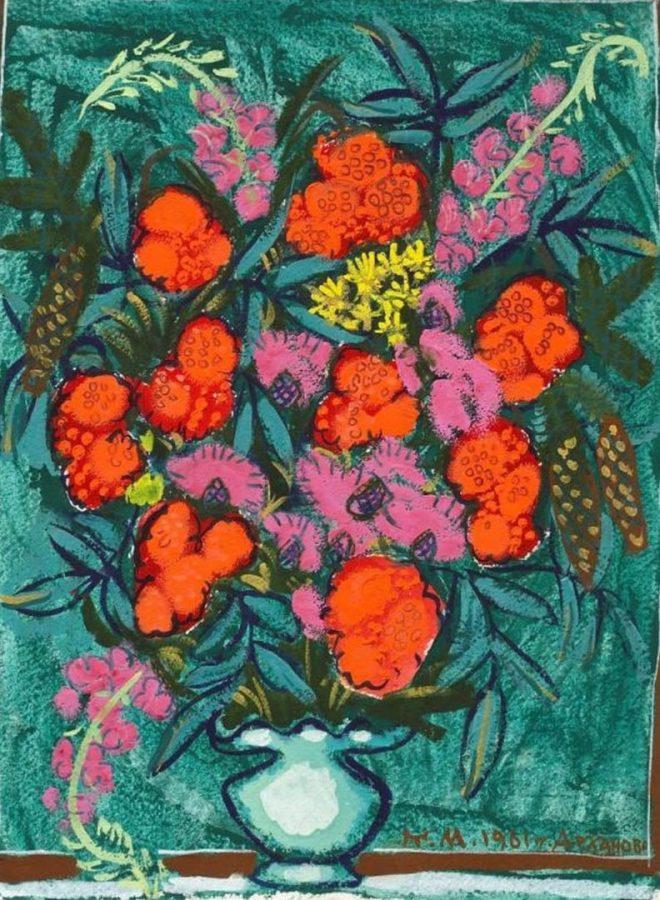 Т.А. Маврина «Бузина», 1961 © Из собрания Музея-заповедника «Абрамцево»