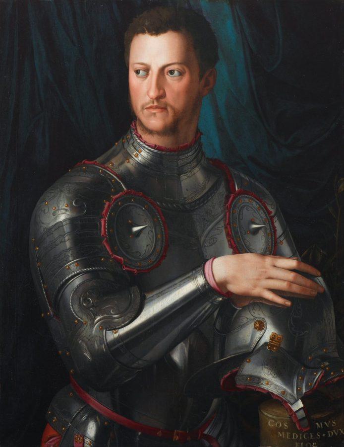 Аньоло Бронзино «Портрет Козимо I Медичи в доспехах», 1545 © metmuseum