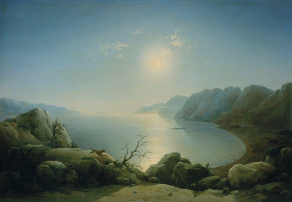 Г.Г. Чернецов «Мертвое море», 1850 © ГРМ