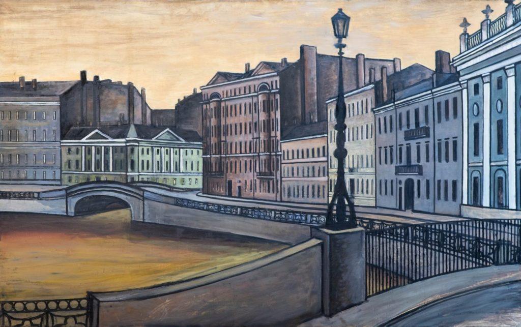 Выставка Бориса Мессерера «Петербург. Роман с городом» © РАХ