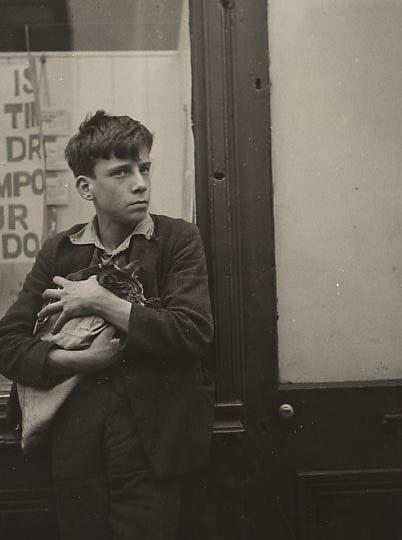 Дора Маар «Мальчик с кошкой», 1934 © 2021 Artists Rights Society (ARS), New York