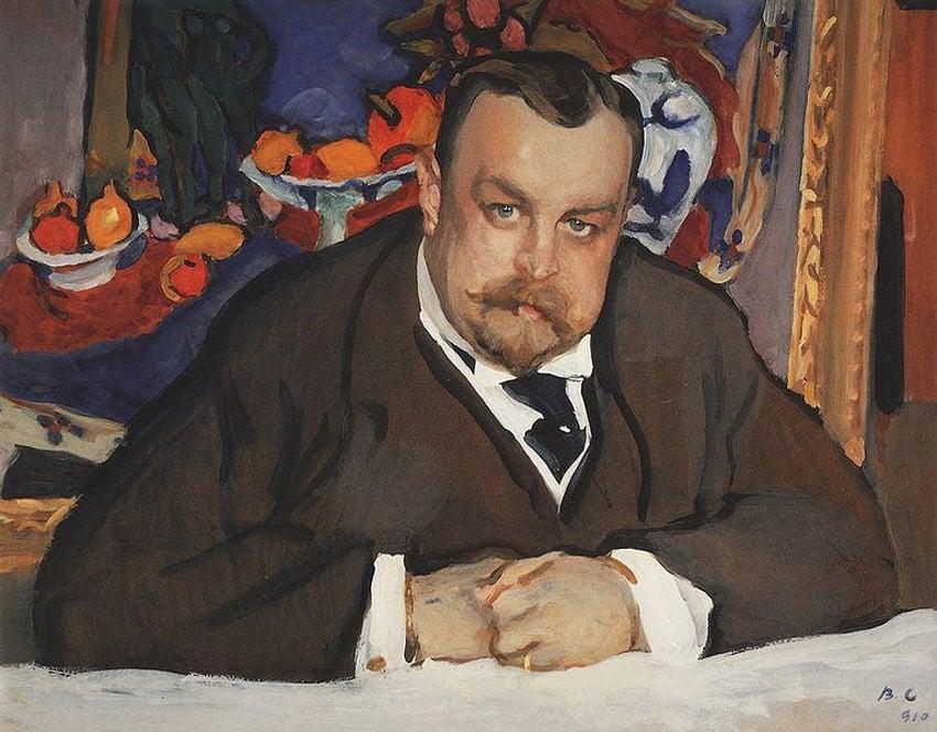 Валентин Серов «Портрет Ивана Морозова», 1910 © Государственная Третьяковская галерея, Москва