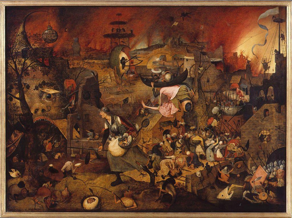 Питер Брейгель «Безумная Грета», 1562-1564 © Museum Mayer van den Bergh / KIK-IRPA