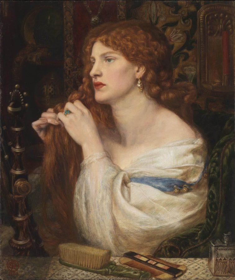 Данте Габриэль Россетти «Аурелия», 1863-1873 © Tate