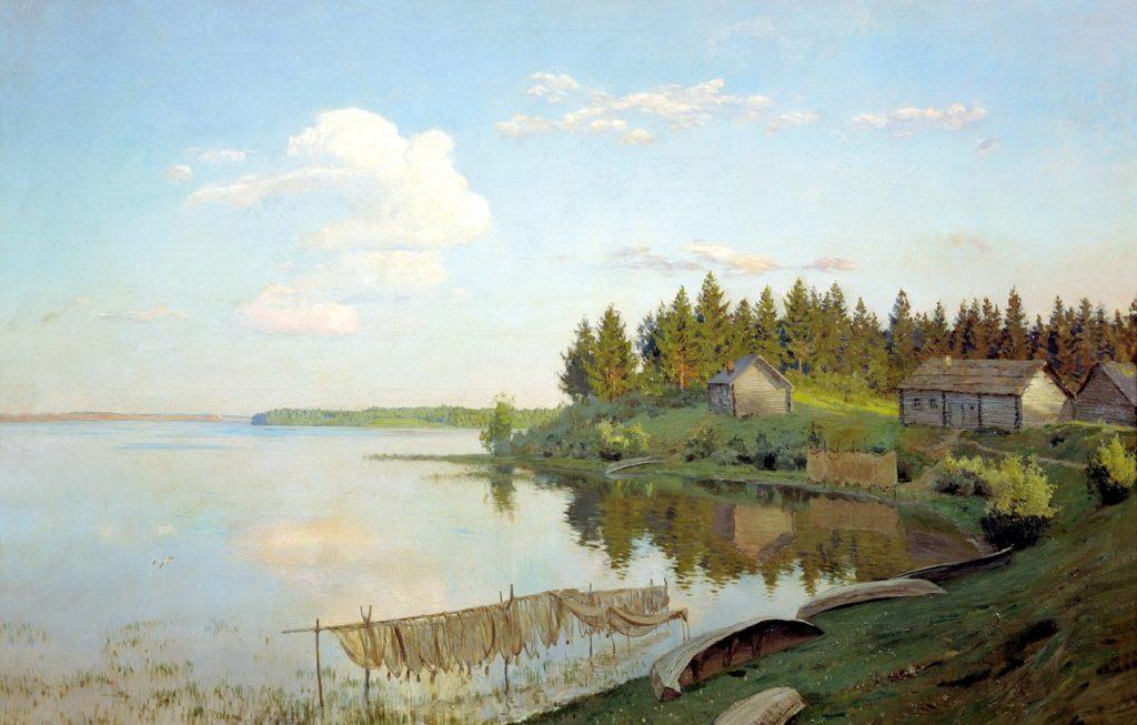 И.И. Левитан «На озере», 1893 © Саратовский государственный художественный музей имени А.Н. Радищева