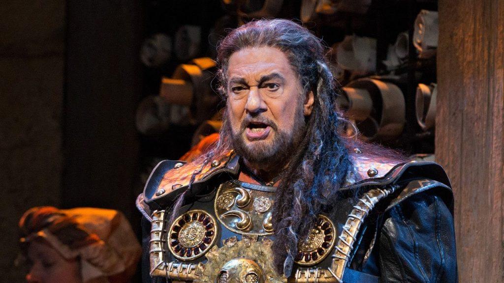 Сцена из оперы «Набукко» © Wiener Staatsoper
