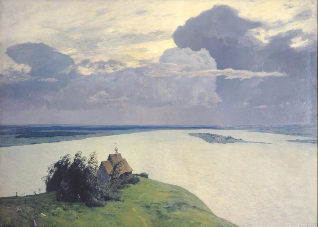 И.И. Левитан «Над вечным покоем», 1894 © ГТГ