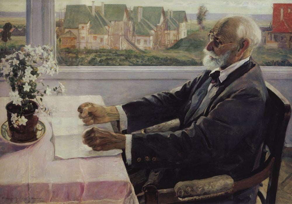 М.В. Нестеров «Портрет И.П. Павлова», 1935 © Государственная Третьяковская галерея