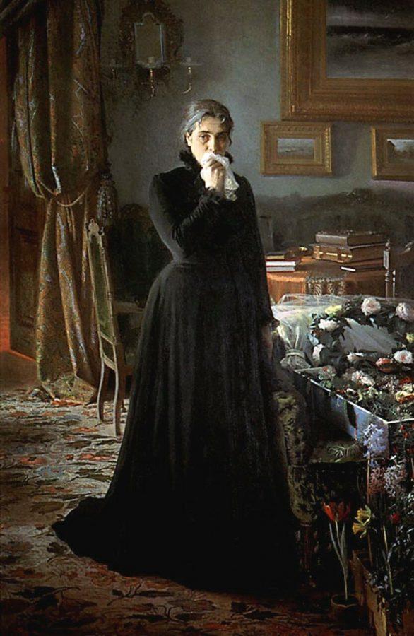 И.Н. Крамской «Неутешное горе», 1884 © ГТГ
