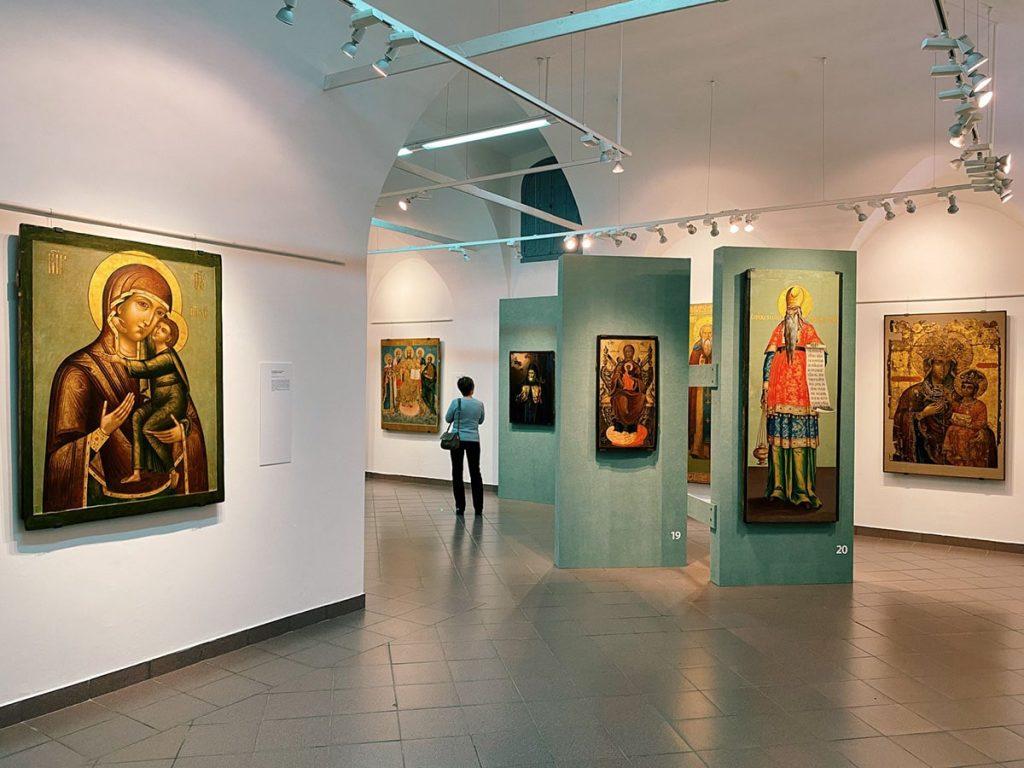 Общий вид экспозиции © Ярославский художественный музей