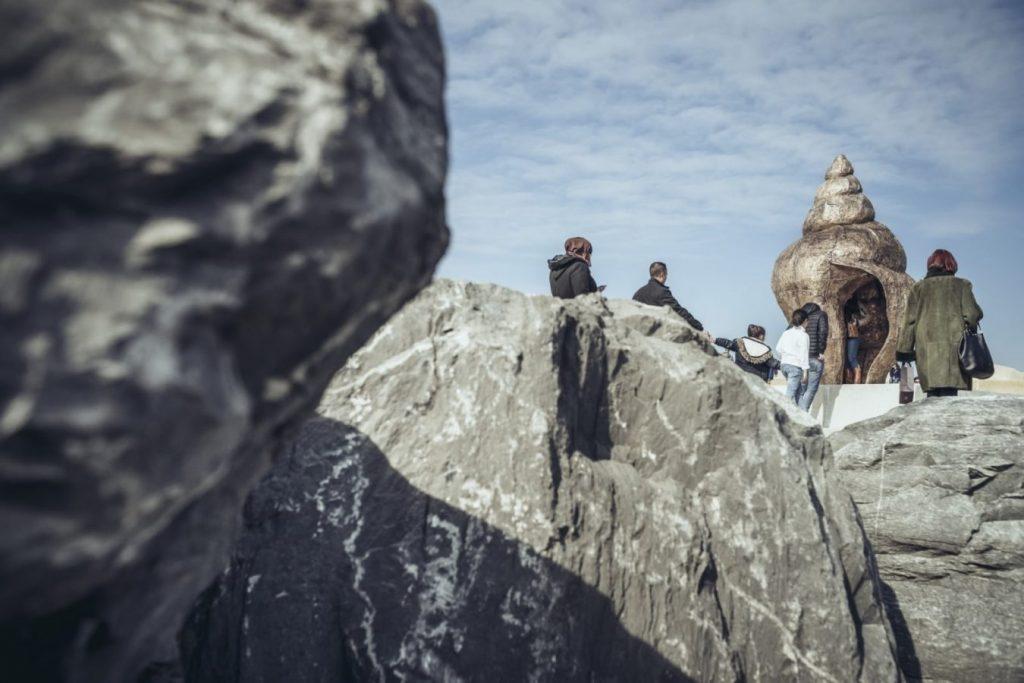 Стив ДеСмет «Памятник Раковине», 2018 © beaufortbeeldenpark.be