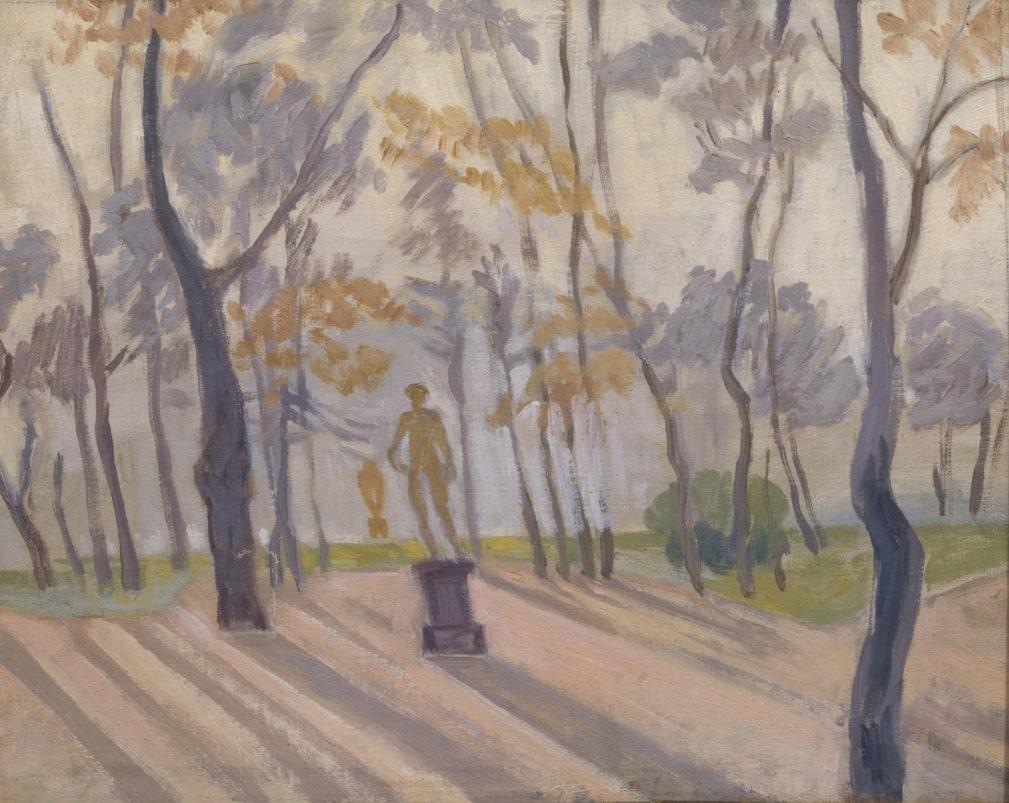 А. П. Остроумова-Лебедева «Летний сад», начало 1910-х © ГРМ