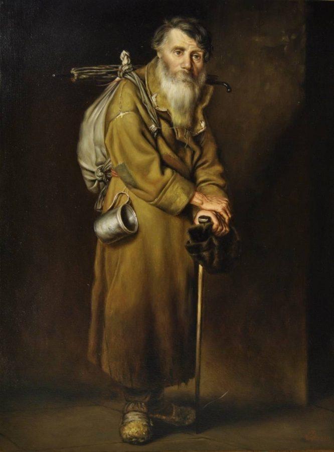 В.Г. Перов «Странник», 1870 © ГТГ