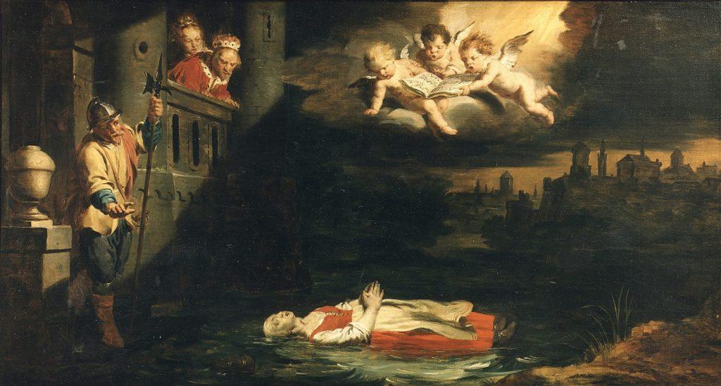 Пьер Джозеф Верхаген «Смерть Маргариты из Лёвена». Церковь Св. Петра, Лёвен (Бельгия) © leuvenbyair