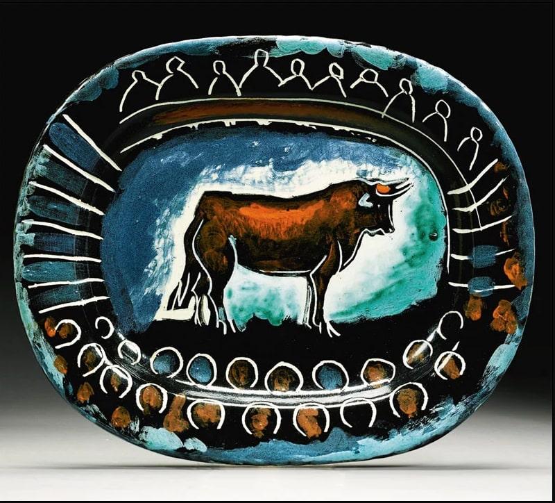 Пабло Пикассо «Коррида». Керамика pushkinmuseum.art