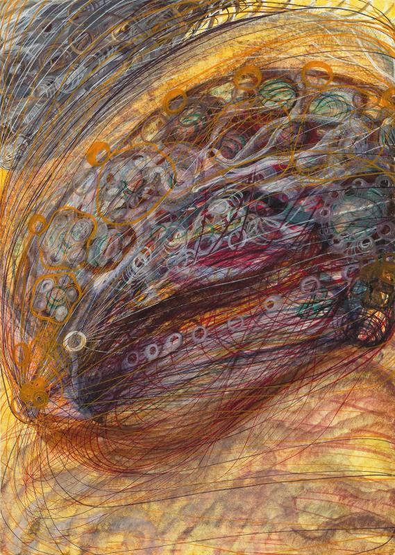 Georgiana Houghton «Album of Spirit Art» © Сentre Рompidou