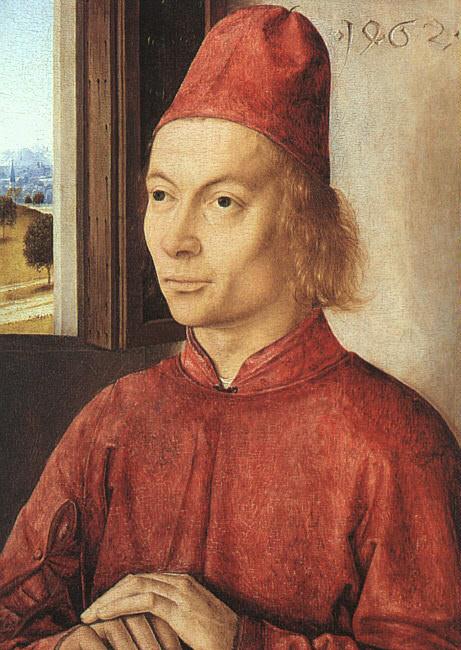 Дирк Баутс «Портрет мужчины», 1462 © leuvenbyair