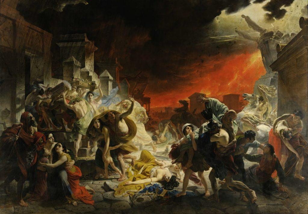 К. П. Брюллов «Последний день Помпеи», 1833 © ГРМ