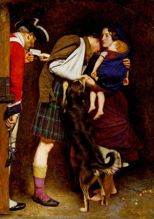 Джон Милле «Приказ об освобождении, 1746 год», 1852 © Tate