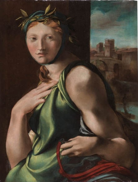 Алонсо Берругете «Аллегория умеренности», 1513-1516 © Museo del Prado