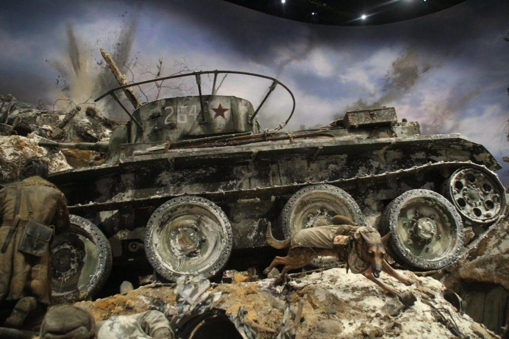 Фрагмент диорамы «Прорыв блокады Ленинграда» © Точка ART
