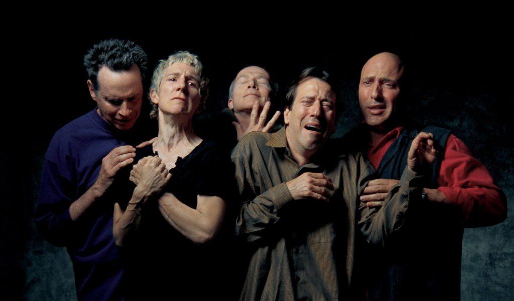 Билл Виола «Квинтет изумленных», 2000 © Cтудия Билла Виолы
