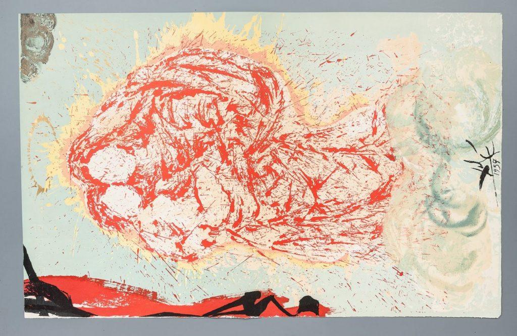 Сальвадор Дали «Гала, моя Сикстинская мадонна». Иллюстрация к роману «Дон Кихот»