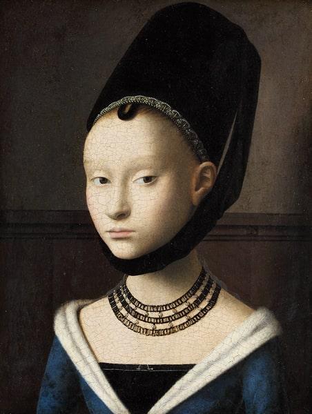 Петрус Кристус «Портрет молодой женщины», ок. 1470 © Gemäldegalerie der Staatlichen Museen zu Berlin / Rijksmuseum
