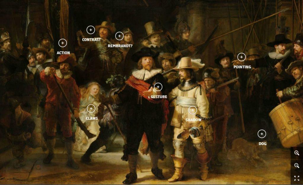 Night Watch in detail © Rijksmuseum