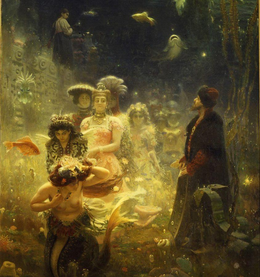 И.Е. Репин «Садко в подводном царстве», 1876 © ГРМ