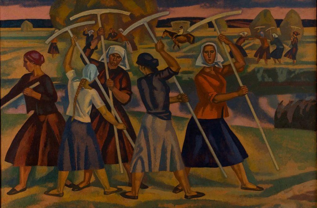В.И. Иванов «Рязанские луга», 1962–1967 © ГТГ
