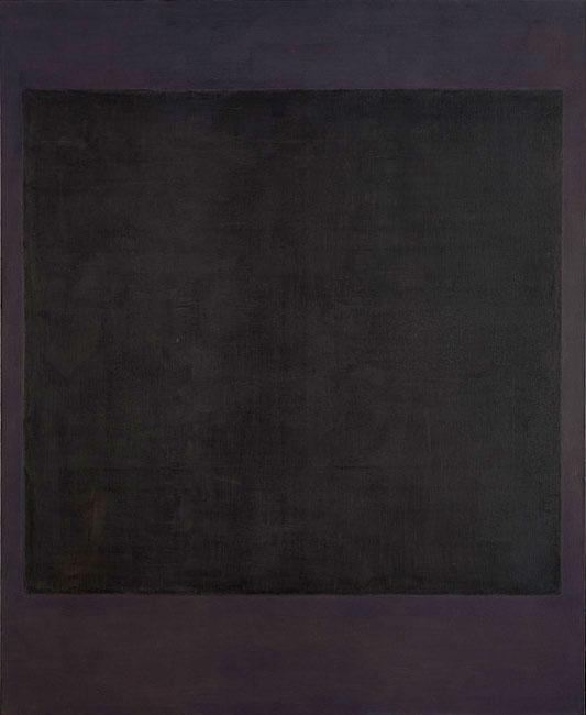 Марк Ротко «Номер 7», 1964 © Национальная галерея искусств, Вашингтон / Sotheby's