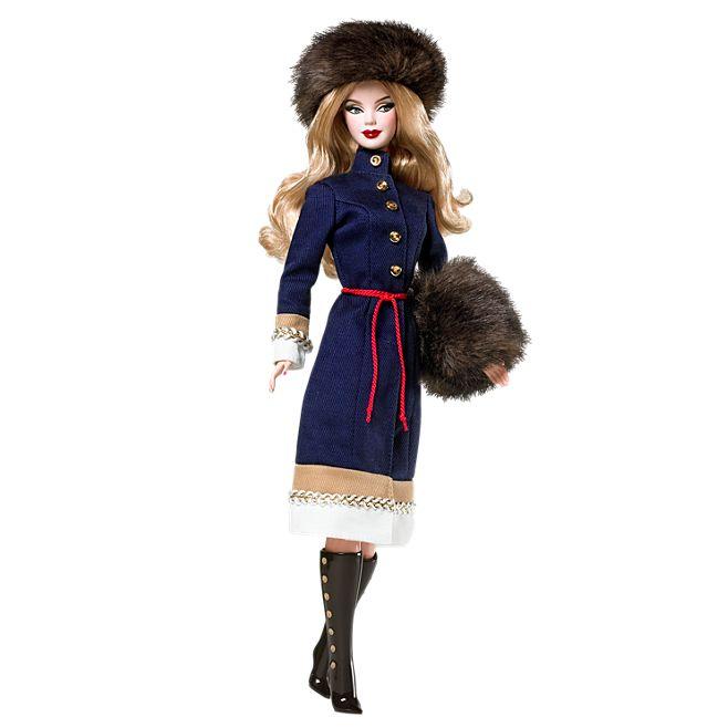 Кукла серии  «Dolls of the World» Russia Barbie® Doll © barbie.mattel.com