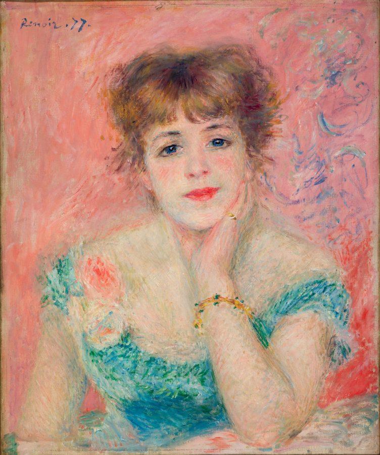 Пьер Огюст Ренуар «Портрет Жанны Самари», 1877 © ГМИИ им. Пушкина, Москва