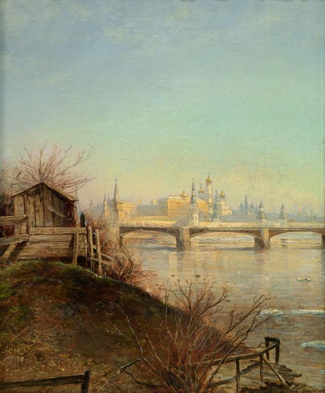 А.К. Саврасов «Вид на Московский Кремль. Весна», 1873 © ГРМ