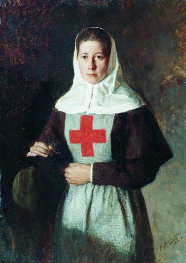 Н.А. Ярошенко «Сестра милосердия», 1886 © Ивановский областной художественный музей