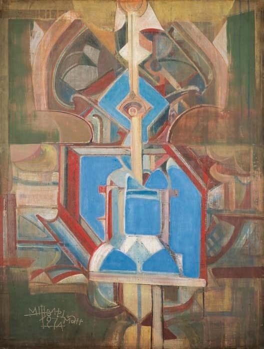Михаил Шварцман «Праотец», 1977 Дар И. А. Шварцман, вдовы художника, 2001 © ГРМ