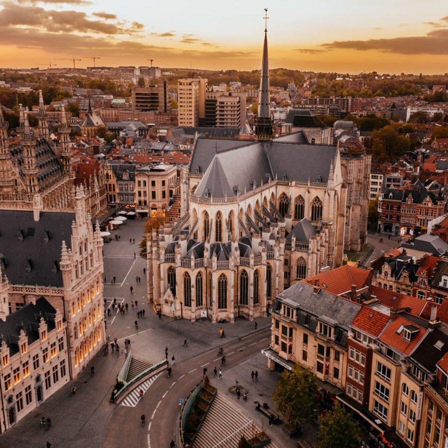 St Peter's Church in Leuven © leuvenbyair