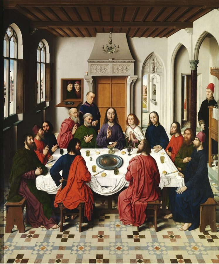 St Peter's church Leuven. The Last Supper © Art in Flanders / Hugo Maertens
