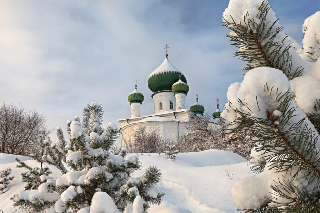 Старая Ладога, церковь Рождества Иоанна Предтечи © Артем Самохвалов