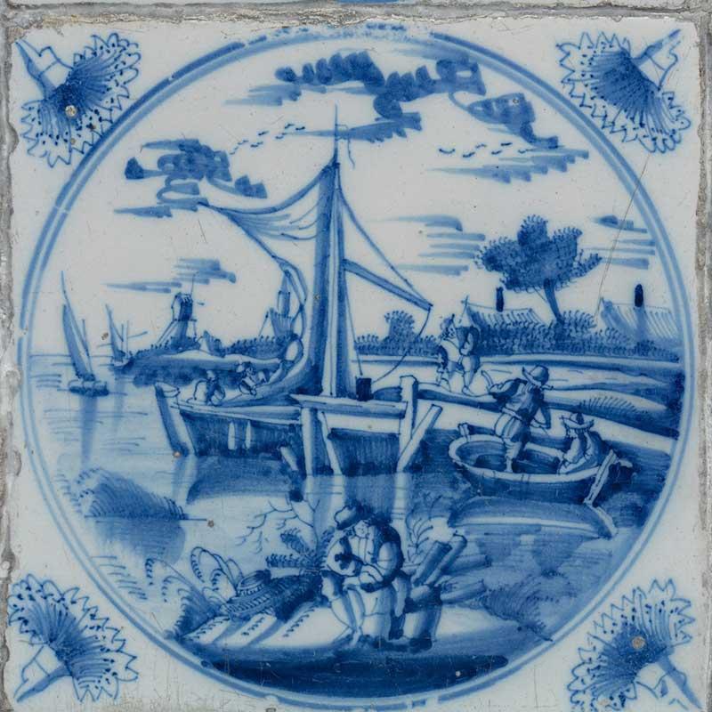 Выставка «Приключения голландской плитки XVIII века из собрания Эрмитажа в Королевстве Нидерланды XXI века»