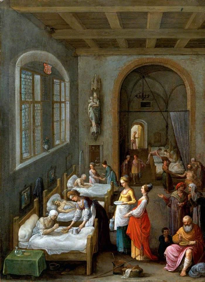 Адам Эльсхаймер «Святая Елизавета, лечащая больных», 1500-е © Art&Culture