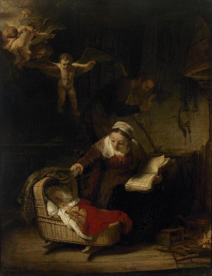 Рембрандт Харменс ван Рейн «Святое семейство», 1645 (Эрмитаж)