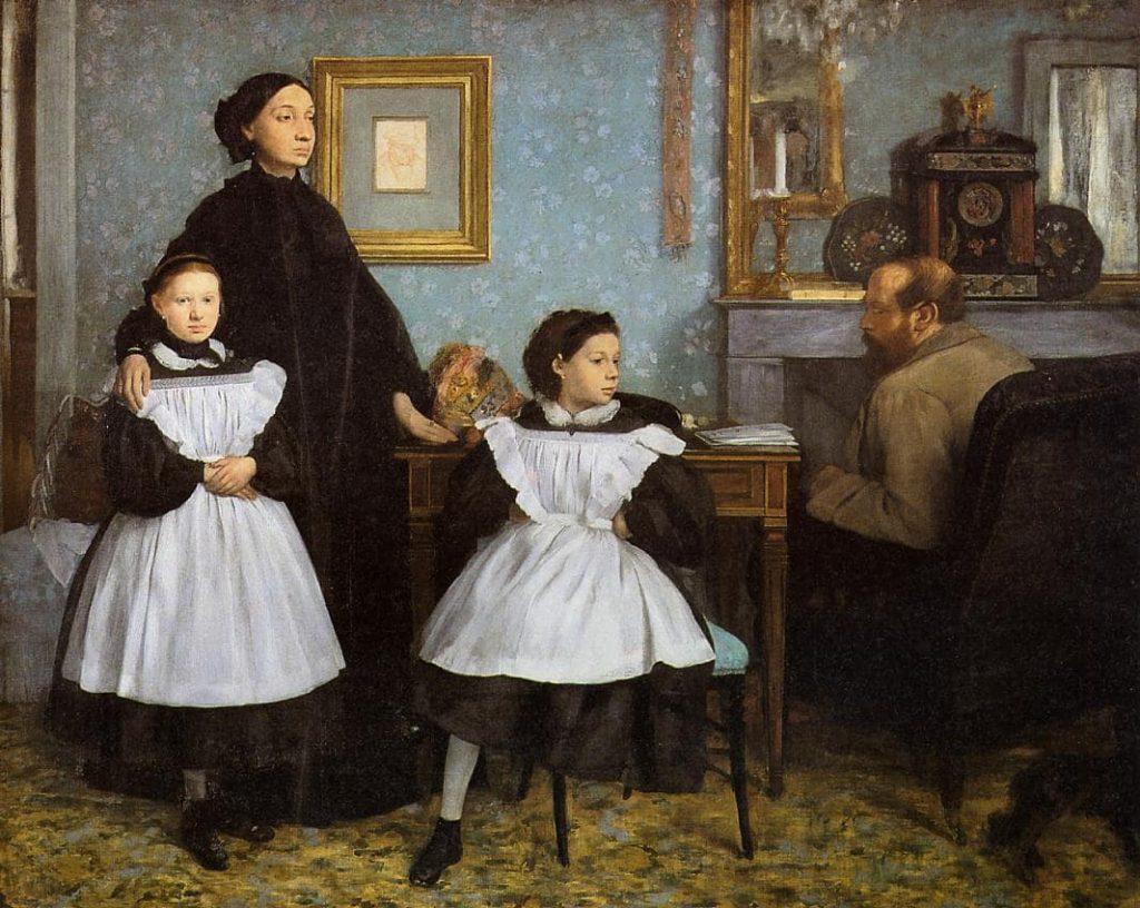 Эдгар Дега «Семья Беллелли», 1860–1862 © Музей Орсе, Париж