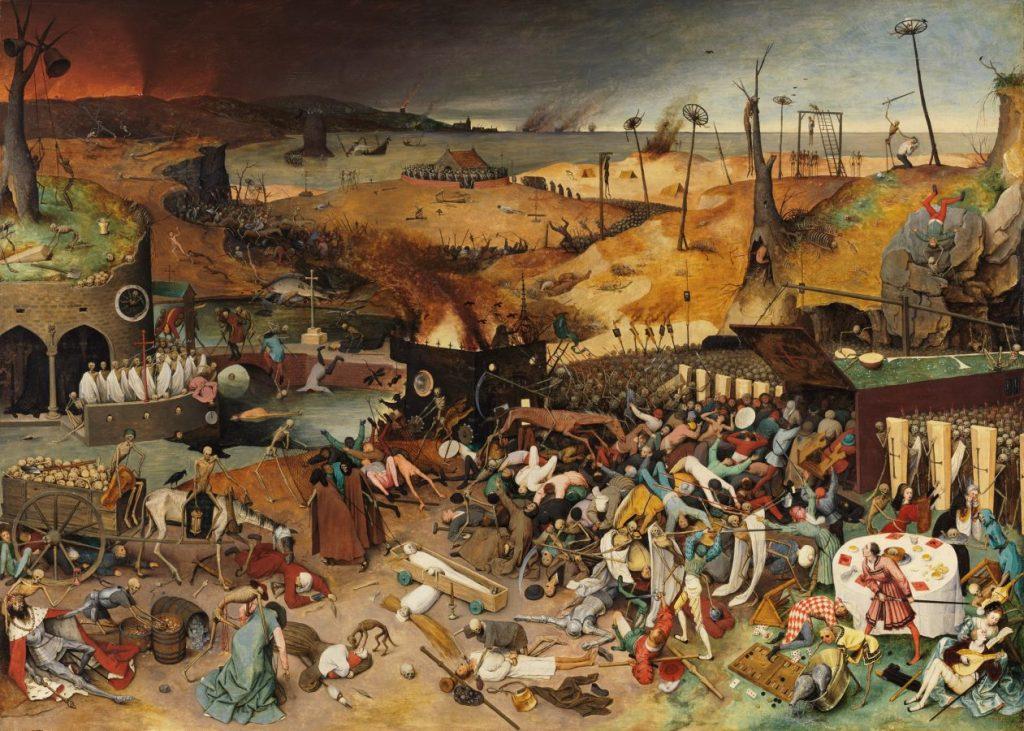 Питер Брейгель Старший «Триумф смерти», 1561-1563 Museo del Prado, Madrid